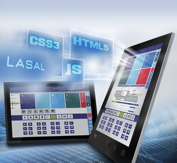 LASAL Visudesigner HMI HTML5