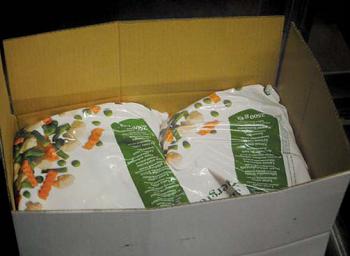 nedpackning CPS förpackningsmaskin livsmedel