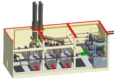 system värmeväxlare anläggning styrsystem standardprodukt sigmatek