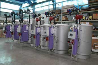 ecotherm anläggning rostfrittstål värmeväxlare maskinbyggare
