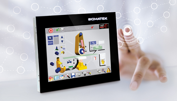 multitouch IP65 touchpanel