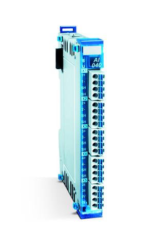 """AI 040"" analog ingångsmodul IEPE-gränssnitt"