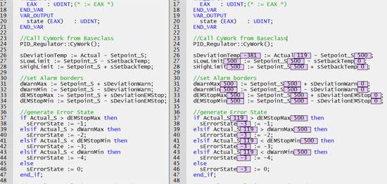 LASAL programmering strukturerad text realtid