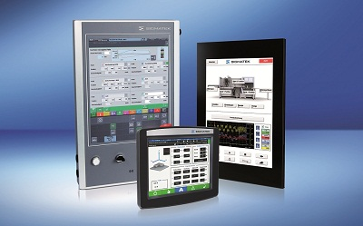 styrpanel touchpanel integrerat PLC