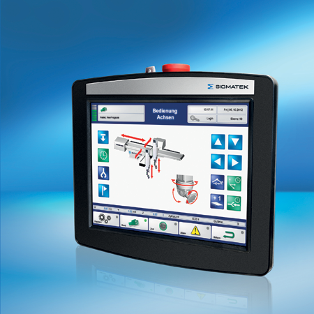 hmi handcontroller touchpanel