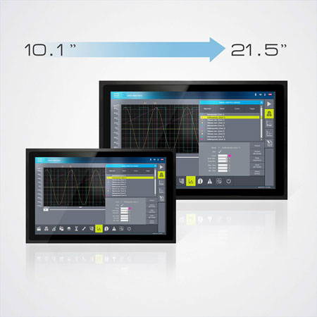 ETT-widescreen touchpanel multitouch