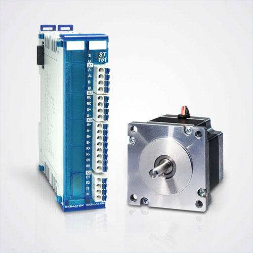 ST 151 stegmotormodul integrerad driver enkoderingång