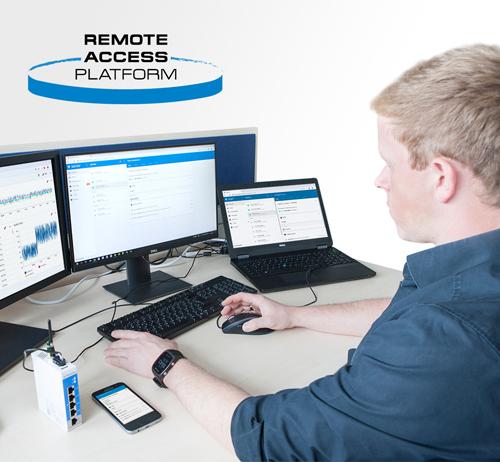 remote access fjärruppkoppling predictive maintenance underhåll